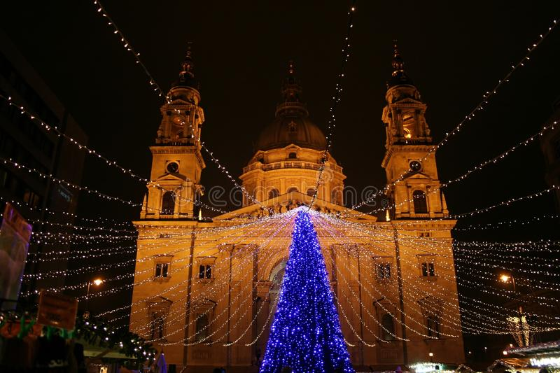 St Stephen's Basilica royalty free stock images