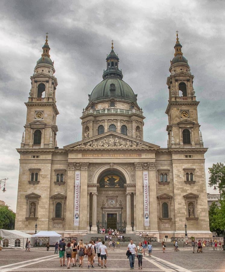 Szent Istvan Bazilika stock images