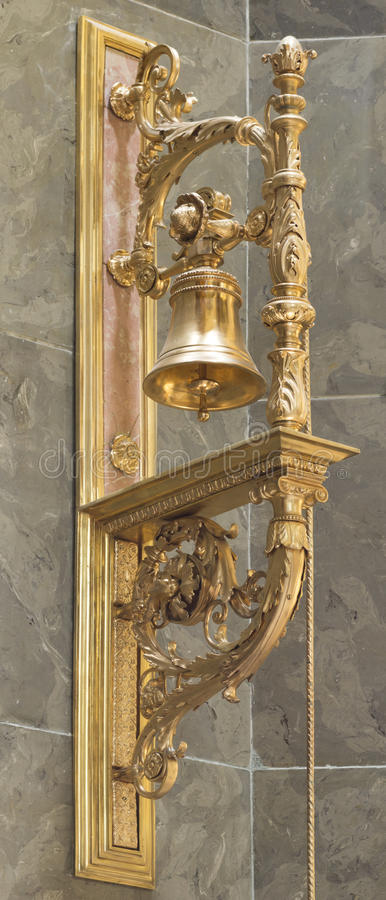 Download St. Stephen's Basilica, Igolden Bell Stock Photo - Image: 25558086