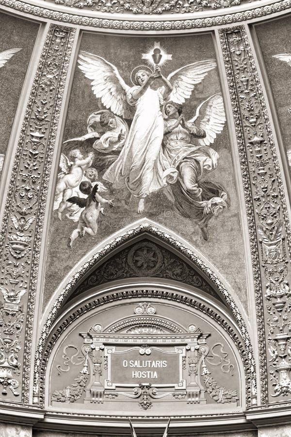 Download St. Stephen's Basilica, Interior Panorama Royalty Free Stock Image - Image: 25324686