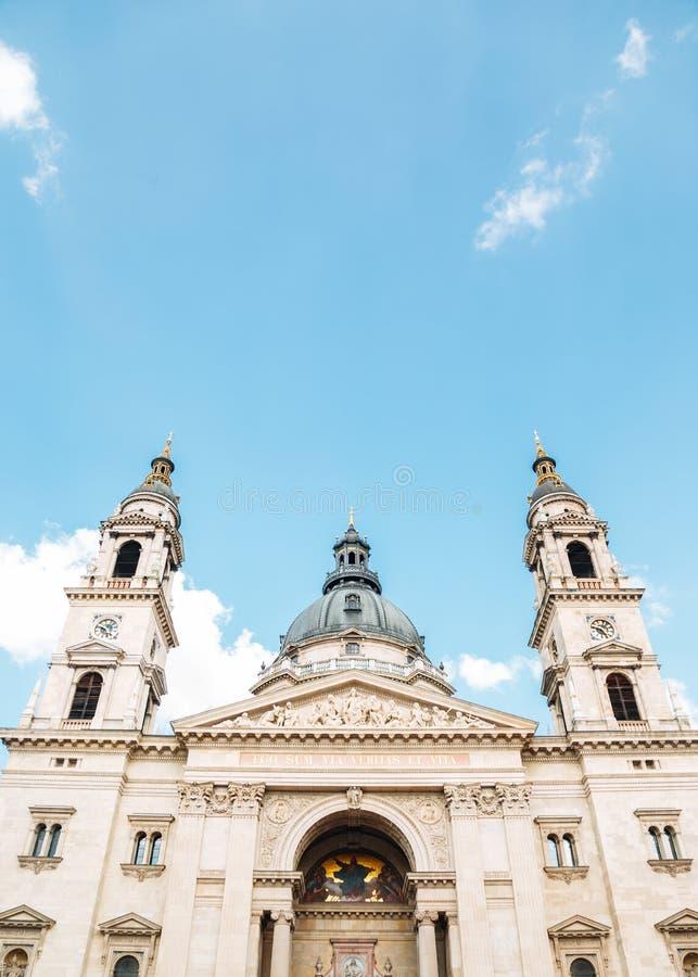 St. Stephen`s Basilica Szent Istvan Bazilika in Budapest, Hungary. Europe stock images
