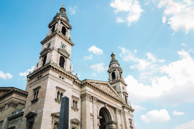 St. Stephen`s Basilica Szent Istvan Bazilika in Budapest, Hungary. Europe royalty free stock photography