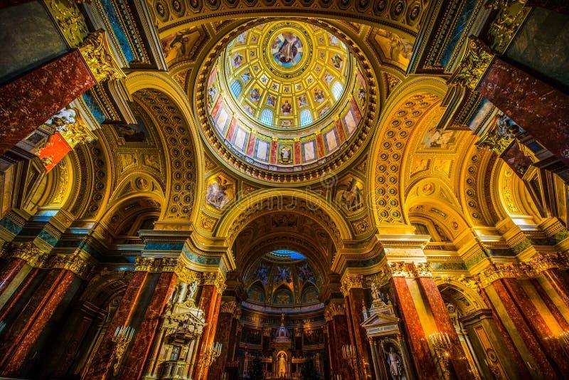 St Stephen ` s bazylika zdjęcie stock