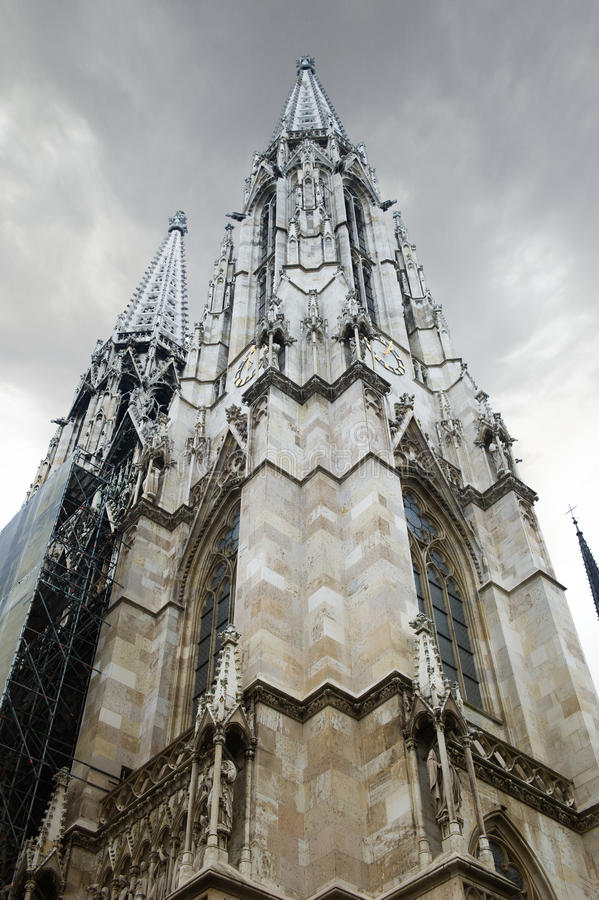 St. Stephen's Cathedral, royalty free stock photos