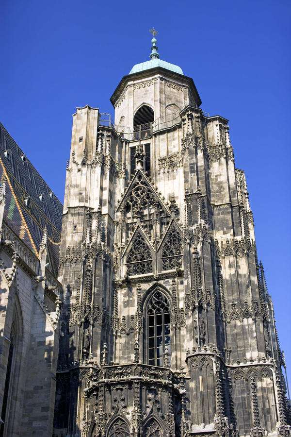 St. stephen's cathedral austria vienna gothic symbol stock photography