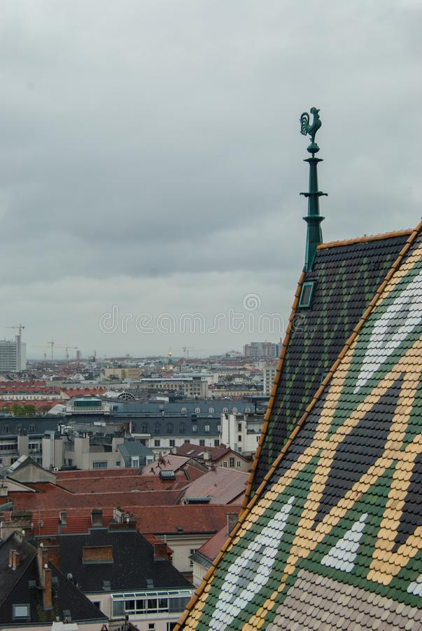 St. Stephen s Cathedral in Hofburg. Vienna, Ausrtia stock photo