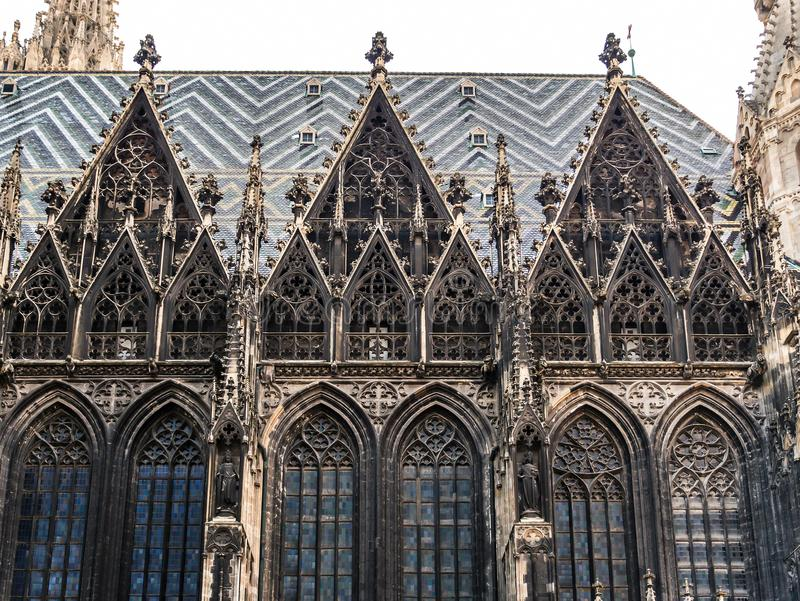 St. Stephen`s Cathedral, Vienna royalty free stock images