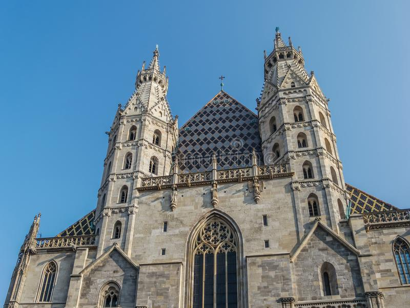 St. Stephen`s Cathedral, Vienna stock images