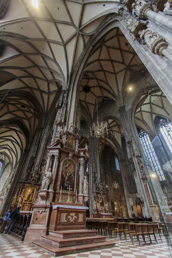 Download St. Stephen's Cathedral In Vienna Editorial Photo - Image of decoration, history: 39514801