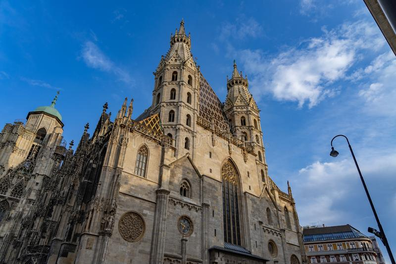 St Stephen& x27;s Cathedral in Vienna Wien, Austria. Architecture, austria, austrian, building, capital, cathedral, catholic, church, city, cityscape stock images