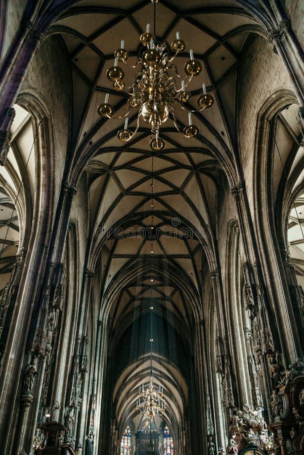 St Stephen ` s katedra obrazy stock