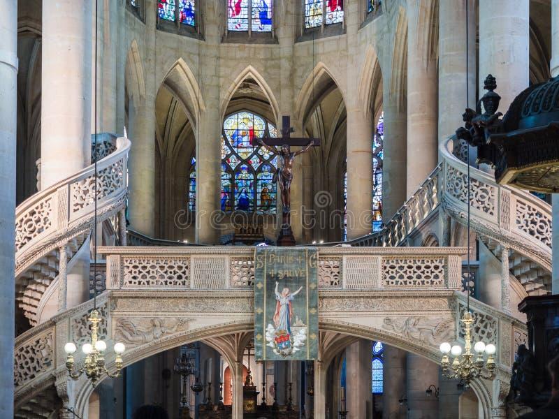 St Stephen ` s kościół góra jest miejscem Katolicki cześć zdjęcia royalty free