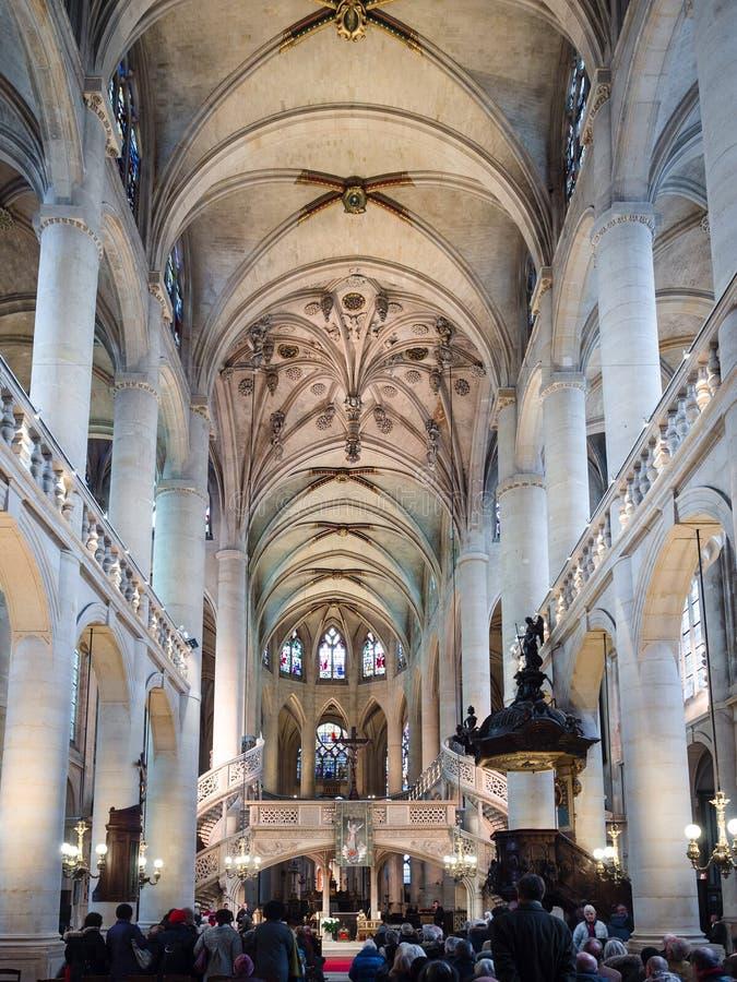 St Stephen ` s kościół góra jest miejscem Katolicki cześć zdjęcia stock