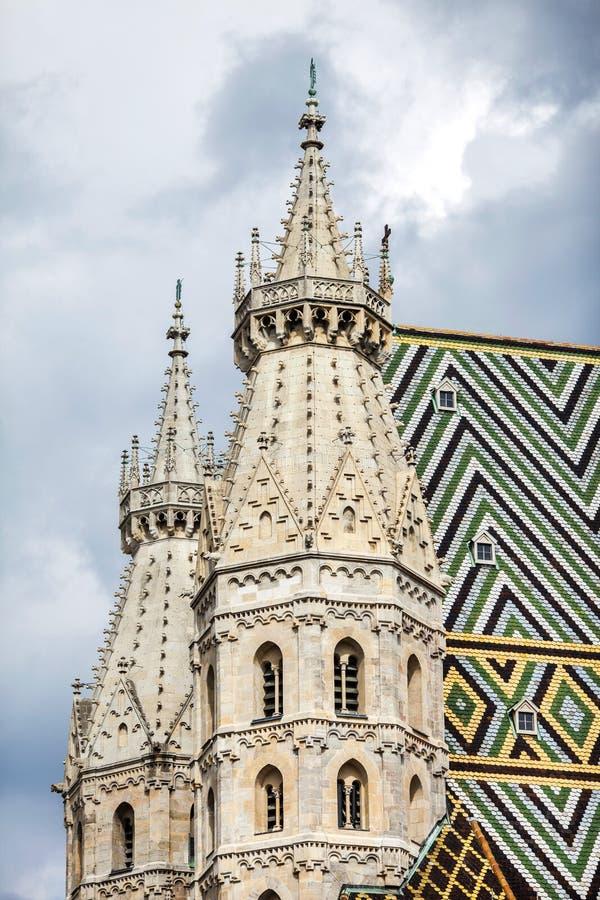 St. Stephens собора в вене, Австрии. стоковое фото