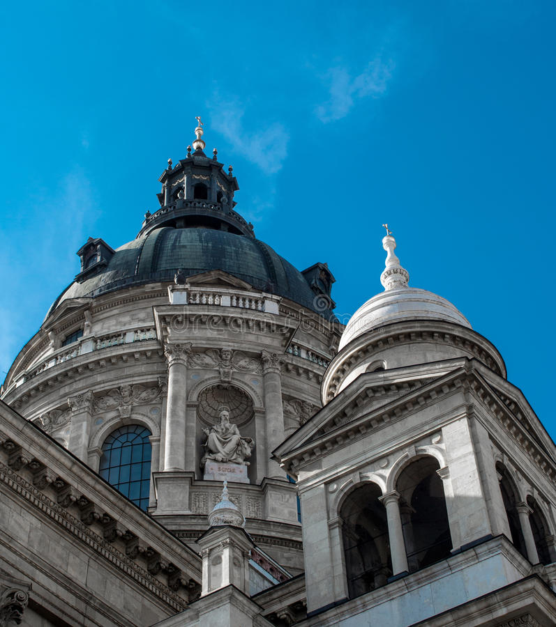 Download St. Stephens Basilica stock image. Image of marble, blue - 26390575