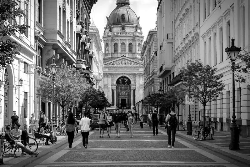 St Stephens Budapest royalty free stock photo