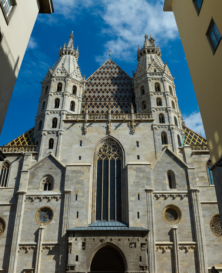 Download St Stephens Cathedral stock photo. Image of spire, history - 26550096