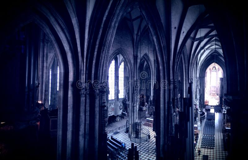 St. Stephens cathedral interior royalty free stock images