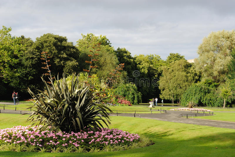 Download St. Stephens Green stock photo. Image of recreational - 15570370