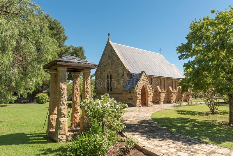 St storica James Anglican Church in Ladybrand fotografie stock libere da diritti