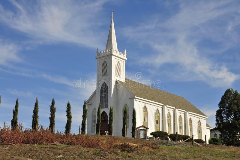 St Teresa della chiesa di Avila fotografia stock libera da diritti