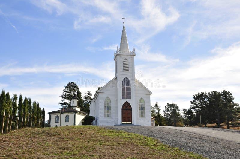 St Teresa della chiesa di Avila fotografia stock
