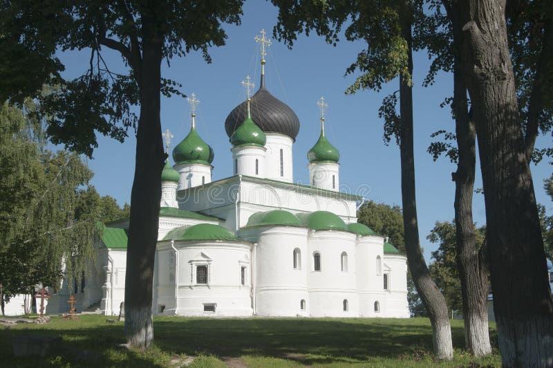 St Theodor klooster, de Kathedraal van de grote Martelaar theo stock fotografie
