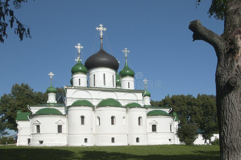St Theodor klooster, de Kathedraal van de grote Martelaar theo stock foto