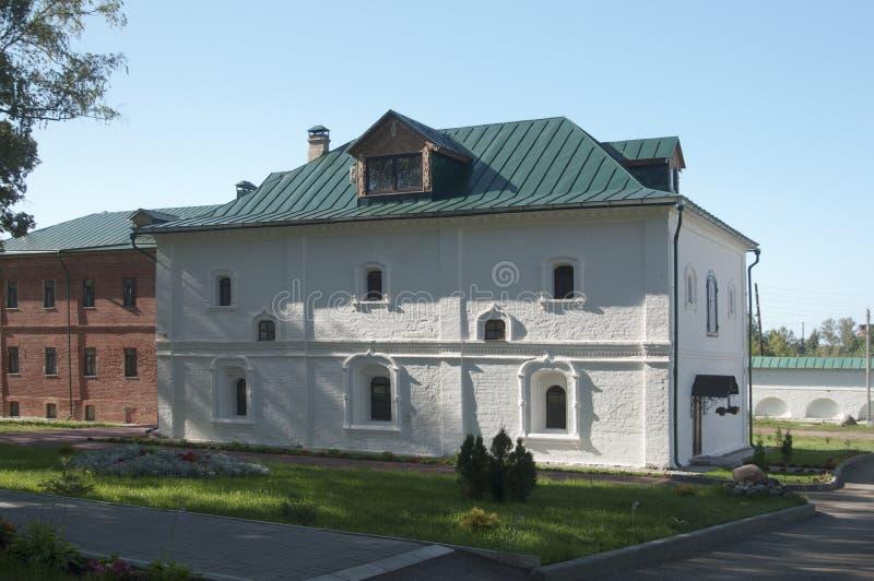 St Theodor klooster, het Cellulaire gebouw royalty-vrije stock foto's
