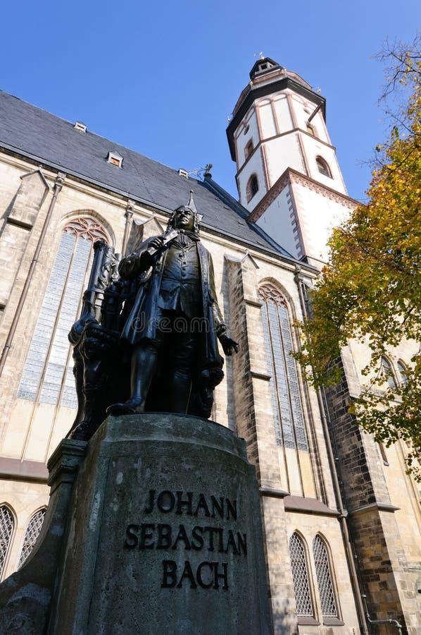 st thomas Германии leipzig церков стоковое фото