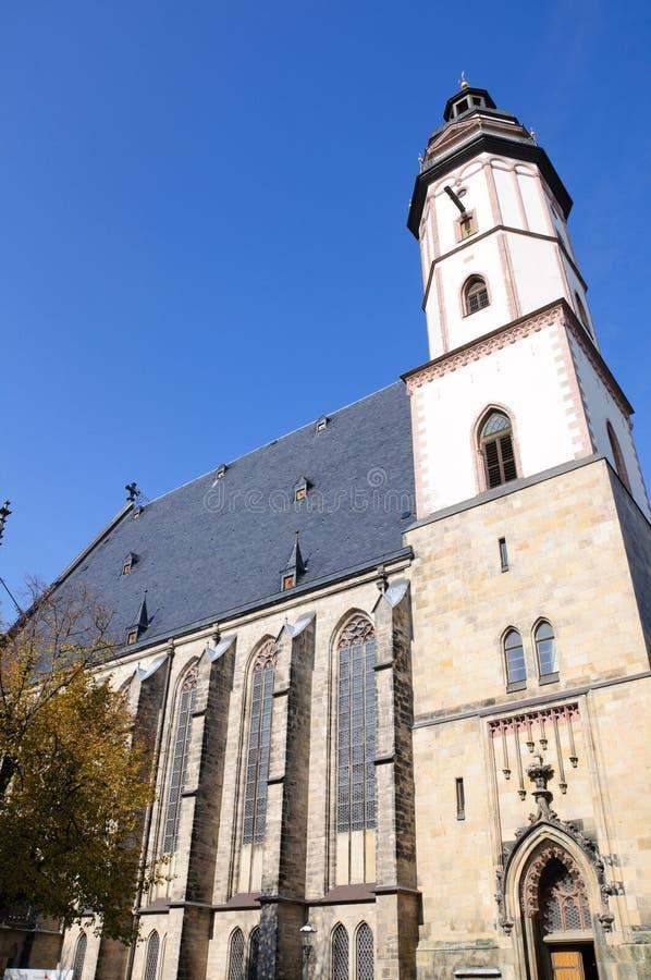 st thomas Германии leipzig церков стоковое изображение rf