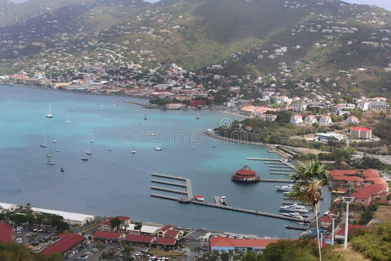 St. Thomas, карибский стоковая фотография