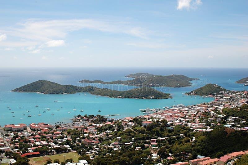 st thomas карибских островов стоковые изображения rf