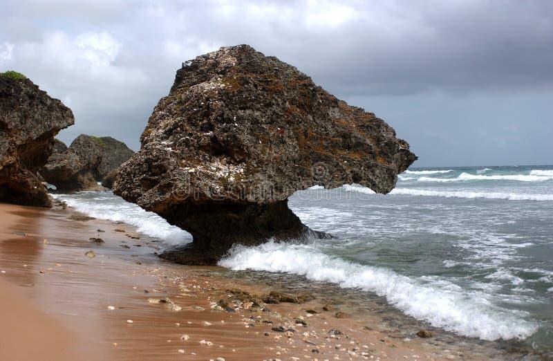 St. Thomas океаном в Вест-Инди стоковая фотография rf
