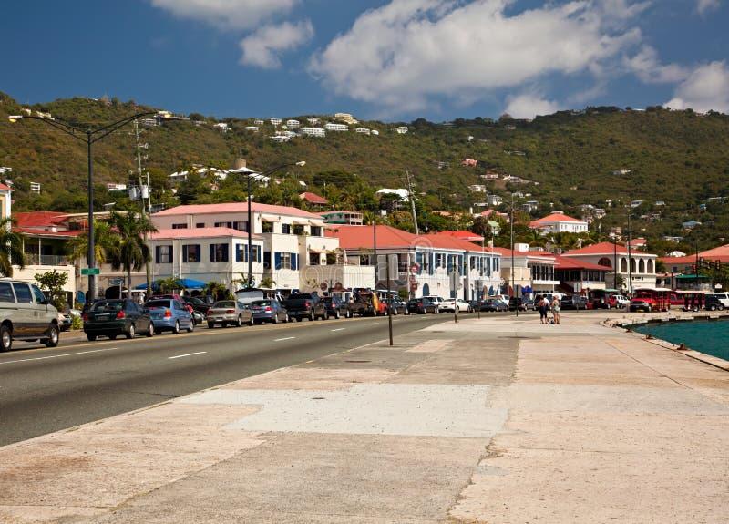 st thomas покупкы острова стоковая фотография