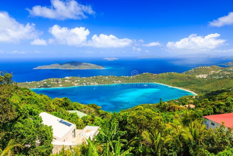 St. Thomas, США Виргинские острова стоковые изображения rf