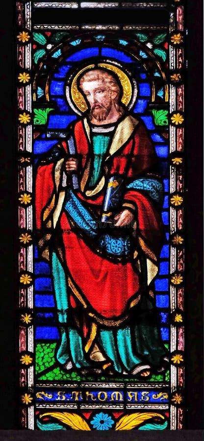 St Thomas aposteln royaltyfri foto