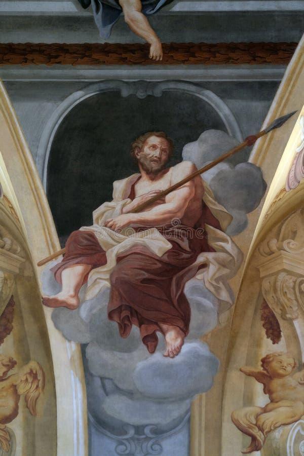 St Thomas aposteln royaltyfri bild