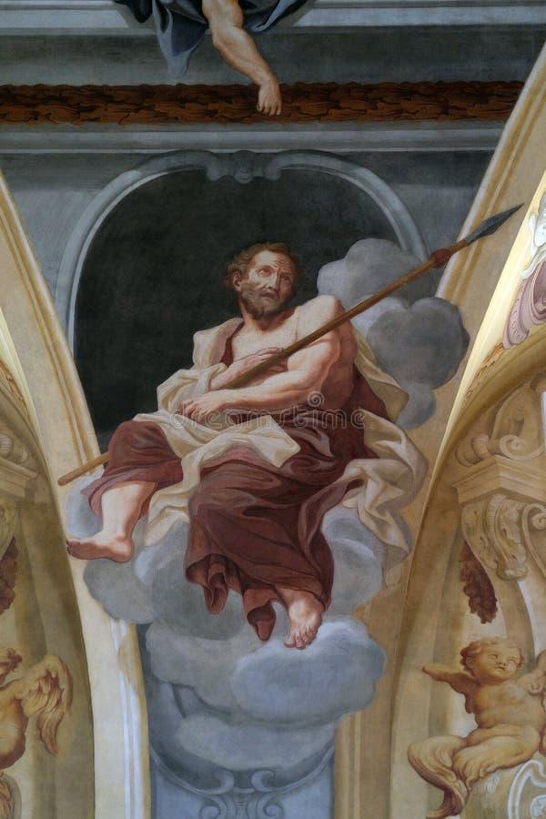 St Thomas aposteln royaltyfria bilder