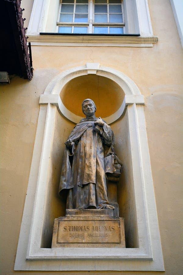 St. Thomas Aquinas, Любляна, Словения стоковое фото rf