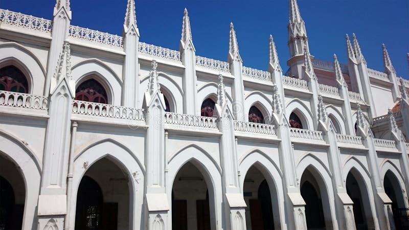 St. Thomas Basilica in Chennai stockbilder