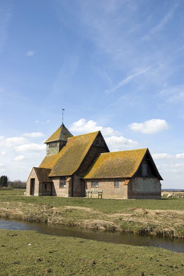 St Thomas Becket Church Fairfield stock photography