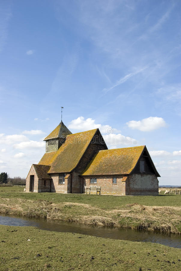 St Thomas Becket Kerk Fairfield stock fotografie