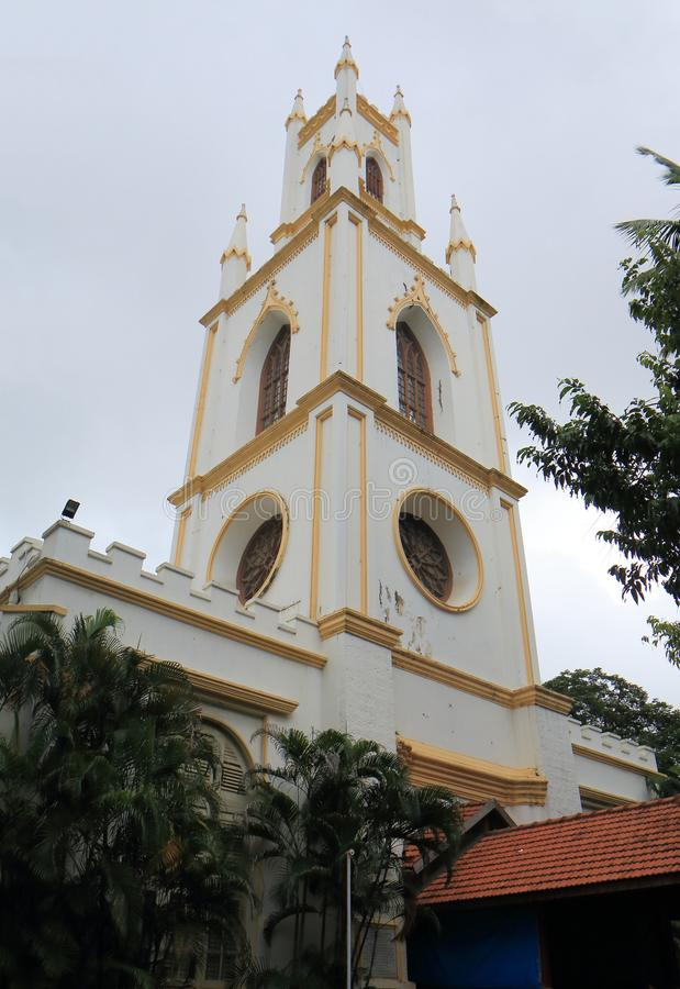 St Thomas Cathedral kerk Mumbai India royalty-vrije stock foto's