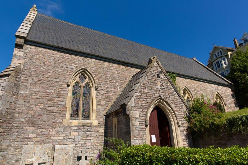 Download St Thomas Church Kingswear Near Dartmouth Devon Stock Image - Image: 33670319