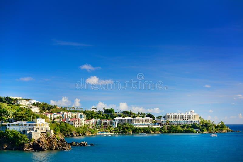 St. Thomas, de Maagdelijke Eilanden van de V.S. stock fotografie