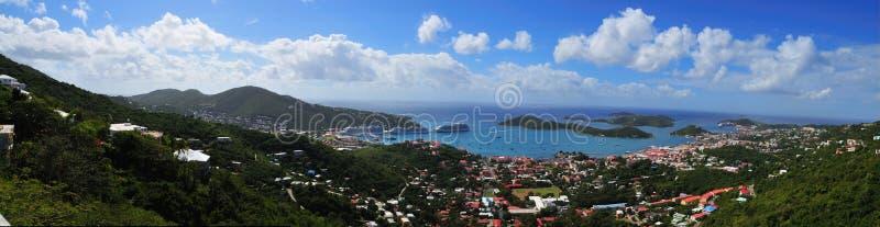 St. Thomas do panorama fotografia de stock royalty free