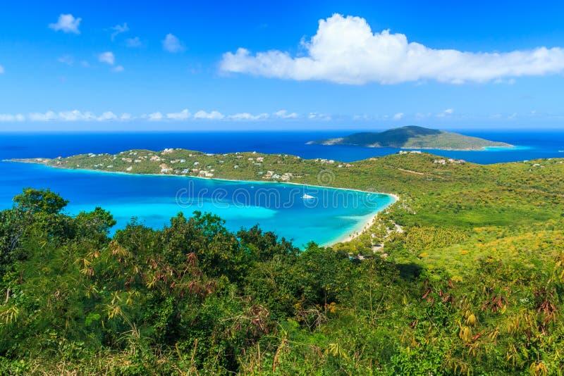 St Thomas, E.U. Ilhas Virgens fotografia de stock