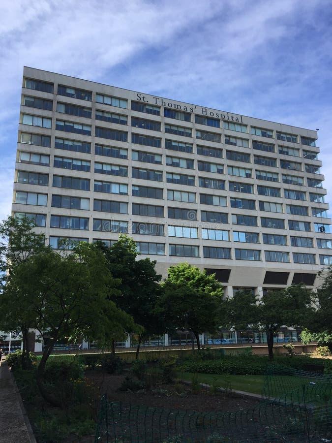 St Thomas het ziekenhuis stock afbeelding