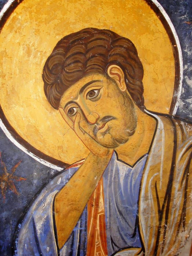 St. Thomas Icon royalty-vrije stock foto's
